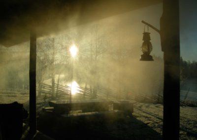 savusauna / smoke sauna