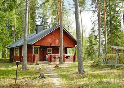 Maatilamatkailu Kumpunen, Kuusikumpu mökki / Cottage Kuusikumpu