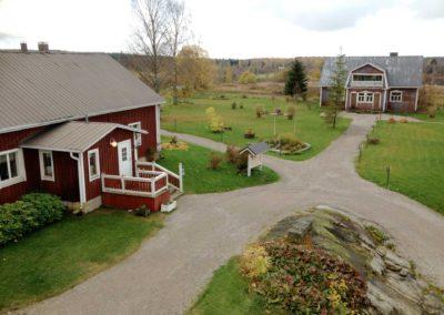 Maatilamatkailu Kumpusen päärakennus / Mainbuilding of Kumpunen